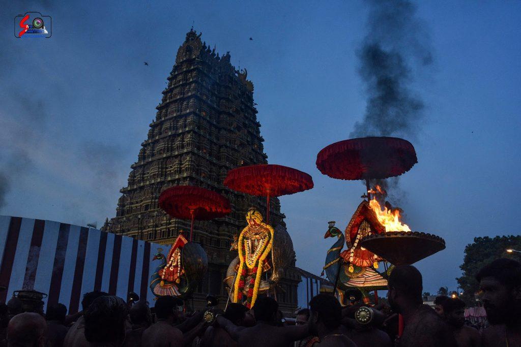நல்லூர் கந்தசுவாமி ஆலய 19 ம் நாள் உற்சவம் 13