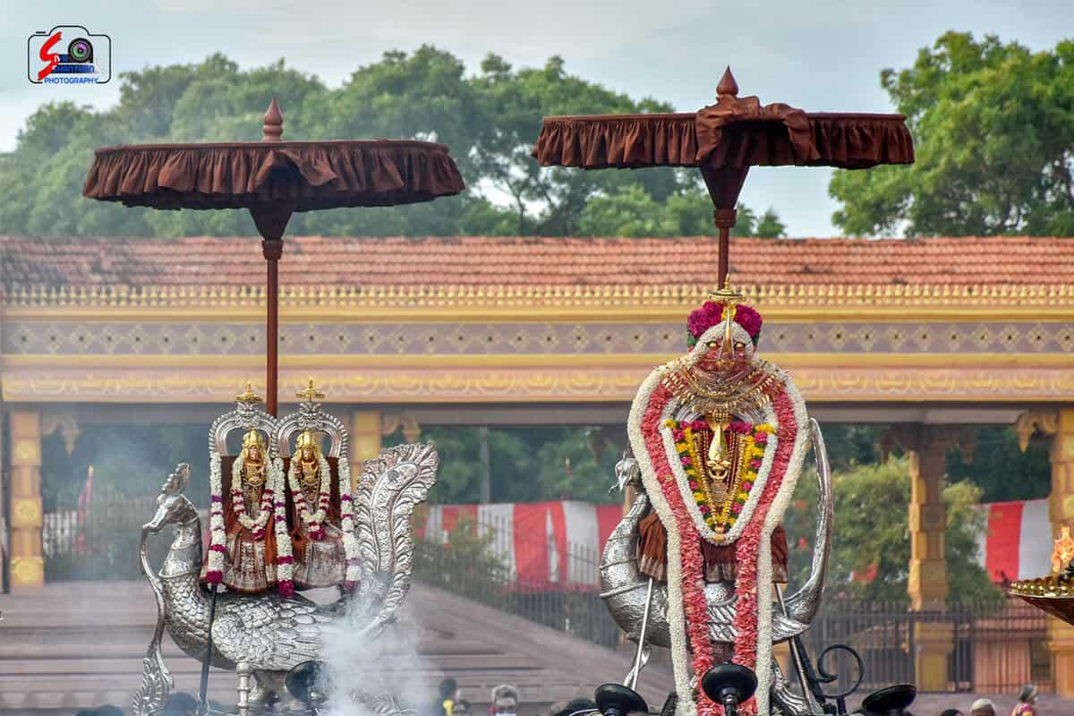 நல்லூர் கந்தசுவாமி கோவில் 3ம் திருவிழா 7